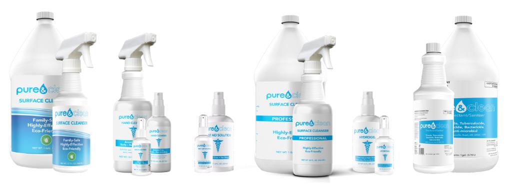 pure&clean® hypochlorous acid